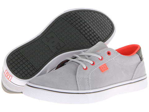 DC - Council (Light Grey/Green Gecko) Women's Skate Shoes