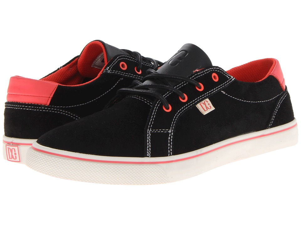 DC - Council (Black/Athletic Red) Women's Skate Shoes