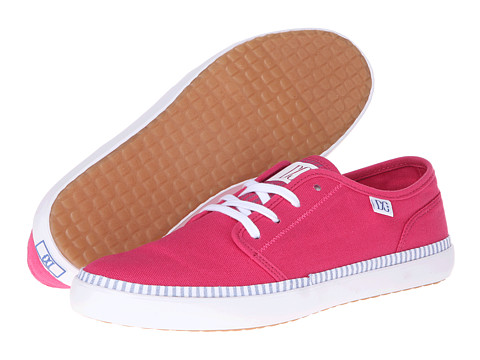 DC - Studio LTZ W (Bright Rose) Women's Skate Shoes