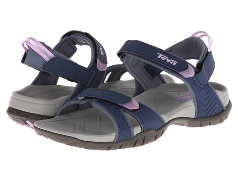 Teva - Numa - Print (Navy) Women's Flat Shoes