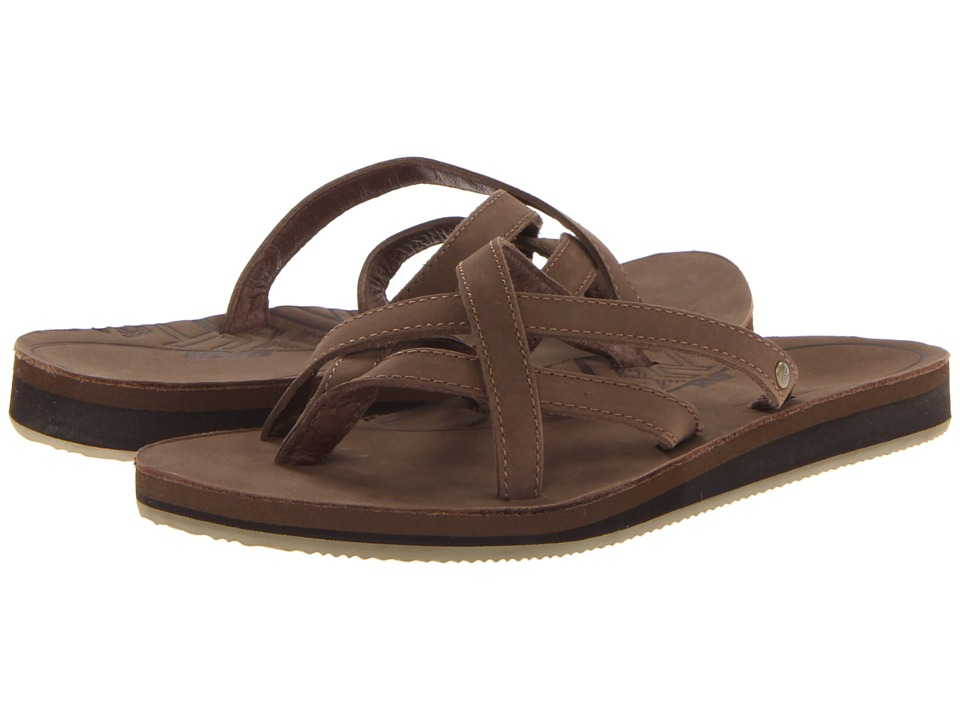 Teva Olowahu Leather (Bison) Women