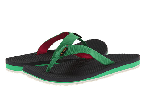 Teva - Original Flip (Green/Pink) Women
