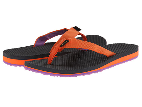 Teva - Original Flip (Orange/Purple) Women's Sandals