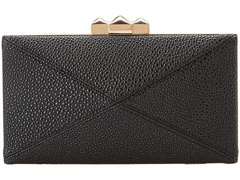 BCBGeneration - The Outward Bound Minaudiere (Black) Clutch Handbags