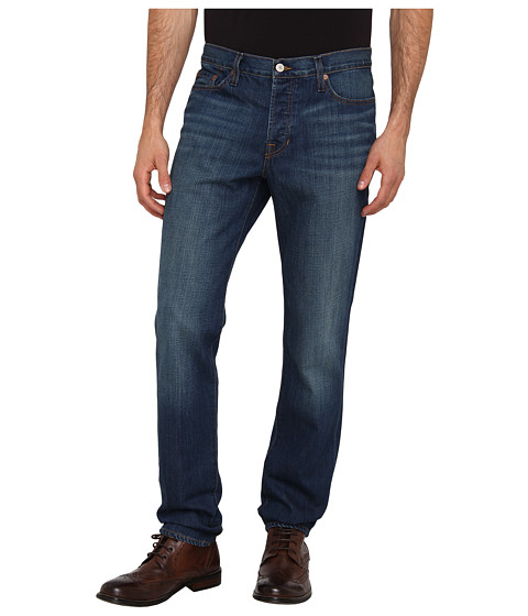 Vince - Tyler - Slim Straight Leg Denim (Dark Worn Wash) Men's Jeans