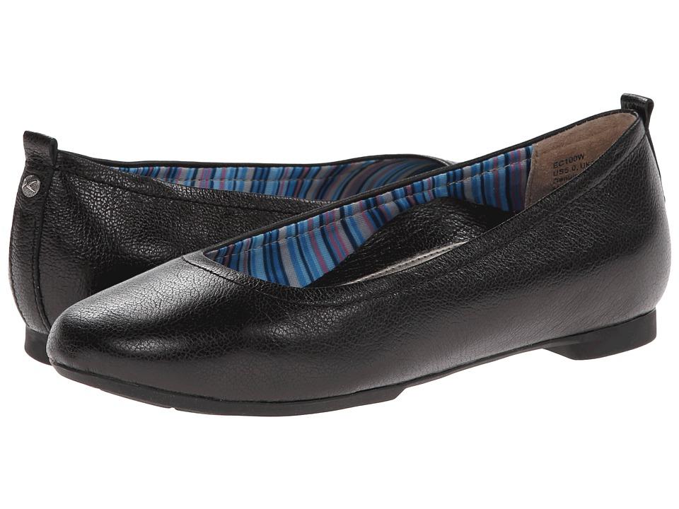 Aetrex - Essencetm Erica Ballet Flat (Black) Women's Dress Flat Shoes