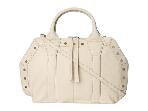 Kelsi Dagger Parker Convertible Satchel (Eggshell) Satchel Handbags