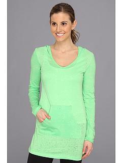 SALE! $16.99 - Save $32 on Alejandra Sky Salina Burnout Tunic (Lime Soda) Apparel - 65.33% OFF $49.00