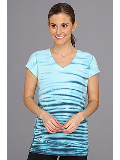 SALE! $16.99 - Save $17 on Alejandra Sky Monica V Neck Tunic (Aqua) Apparel - 50.03% OFF $34.00