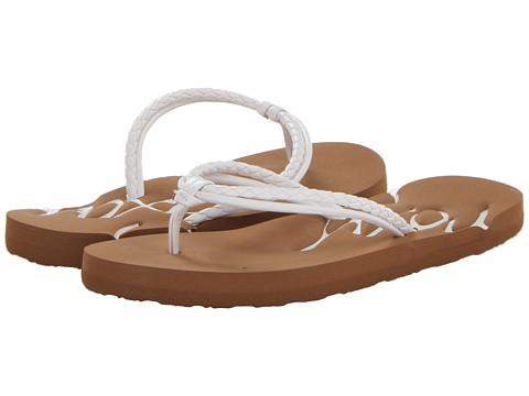 Roxy Kids - RG Lanai (Little Kid/Big Kid) (White) Girls Shoes