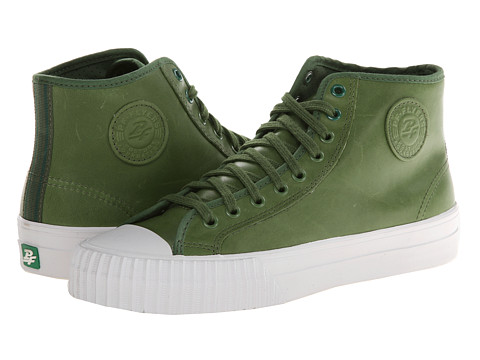 PF Flyers - Center Hi (Green1) Lace up casual Shoes