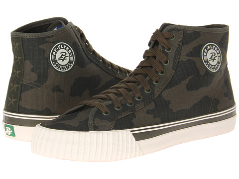 PF Flyers - Center Hi (Army Green Camo) Lace up casual Shoes
