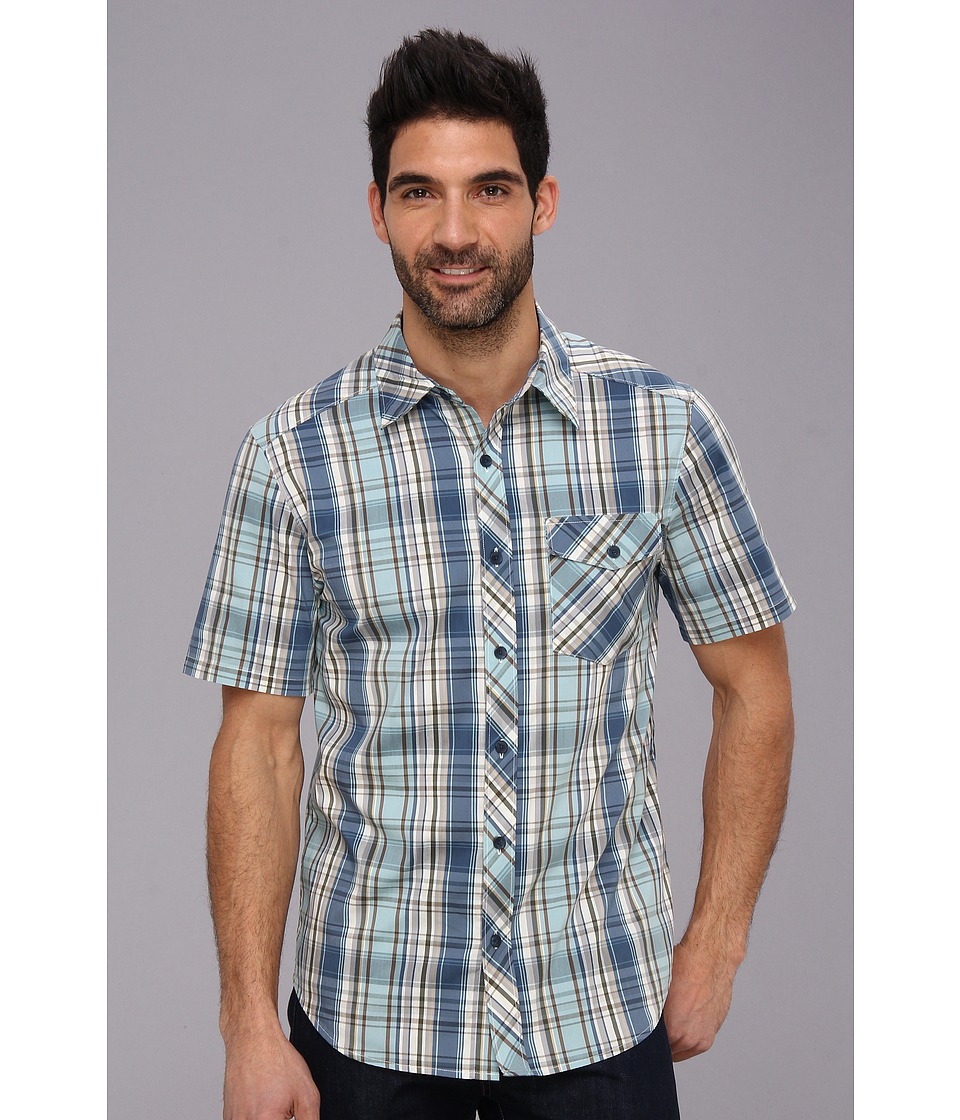 Merrell - Rambler S/S Button Up (Chilkoot Y/D) Men's Short Sleeve Button Up