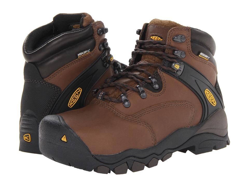 Keen Utility - Louisville 6 Steel Toe (Slate Black) Women's Boots