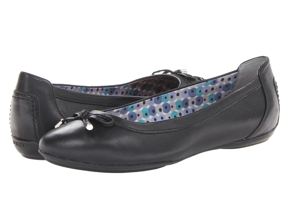 Geox - D Charlene 1 (Black 2) Women's Flat Shoes