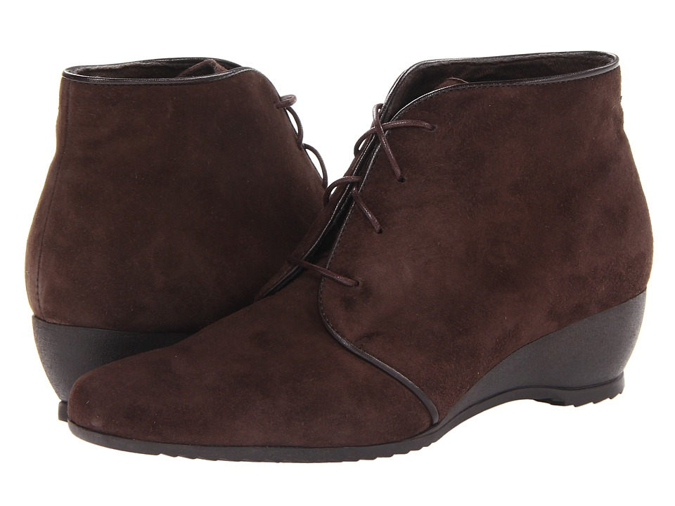 Munro American - Kara (Brown Suede) Women's Lace-up Boots