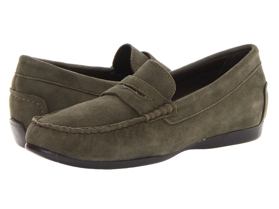 Munro - Ramie (Green Kid Suede) Women's Shoes