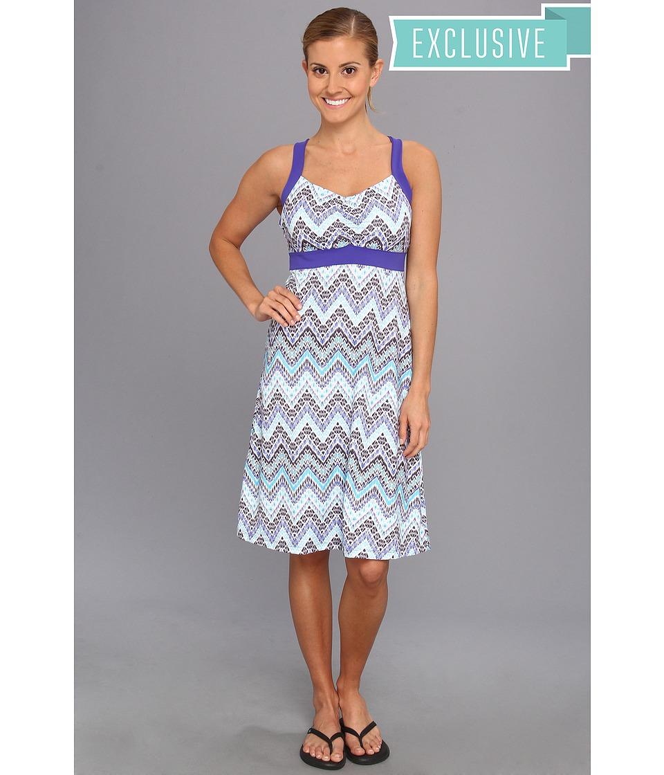 Prana - Amaya Dress (Sail Blue Tempo) Women