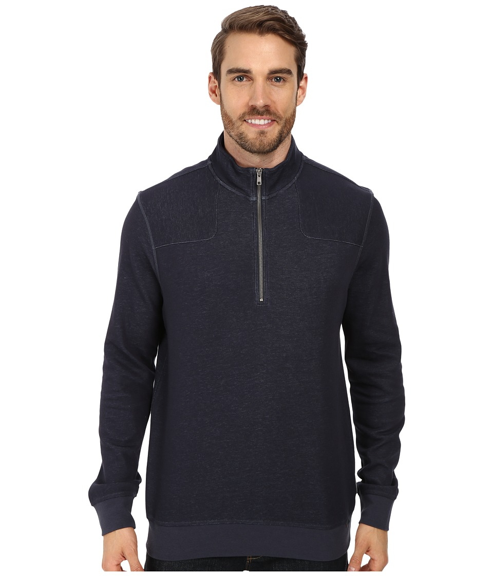 Merrell - Elsand Half Zip (Ink Heather) Men's Fleece