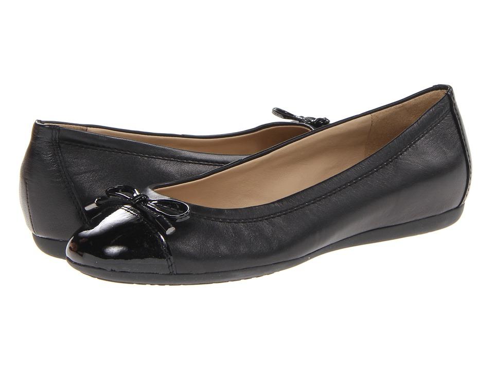 Geox D Lola 16 (Black Leather) Women