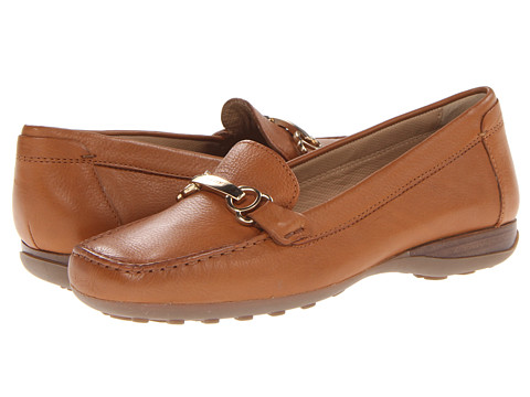 Geox - D Euro (Light Brown) Women's Slip on Shoes