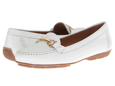 Geox - D Italy (Optic White) Women's Shoes