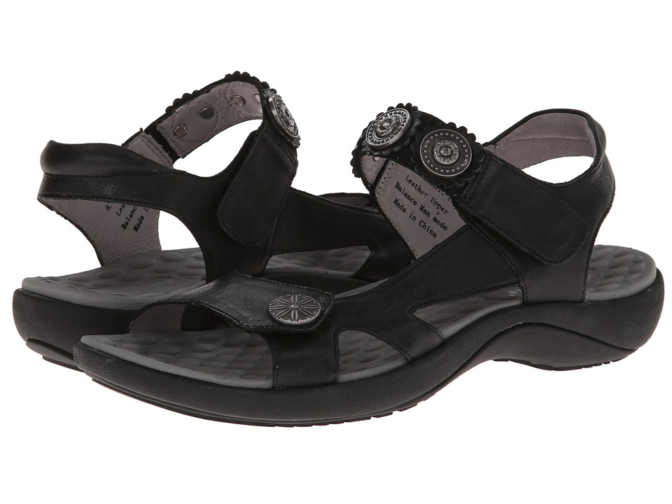 David Tate - Crown (Black) Women's Sandals