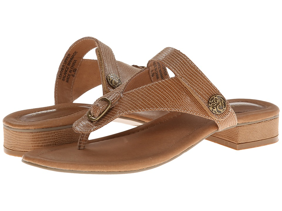 David Tate - Amber (Natural) Women's Sandals