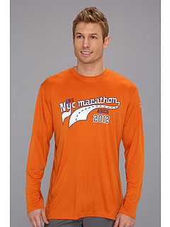 SALE! $9.9 - Save $24 on ASICS New York Champ Long Sleeve (Blaze) Apparel - 70.88% OFF $34.00