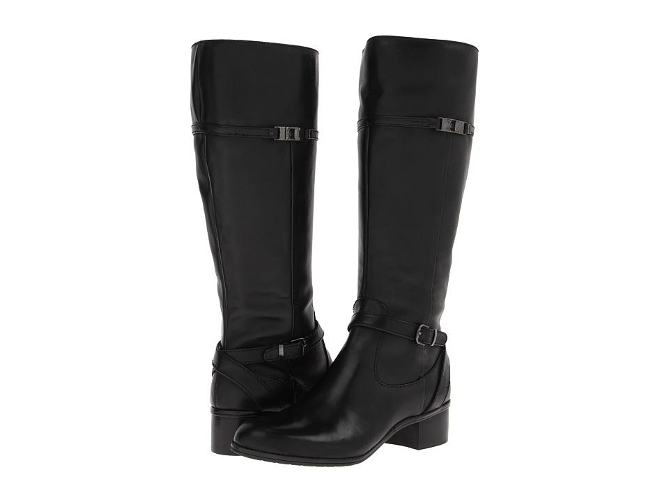Bandolino - Callan Wide Calf (Black Leather) Women