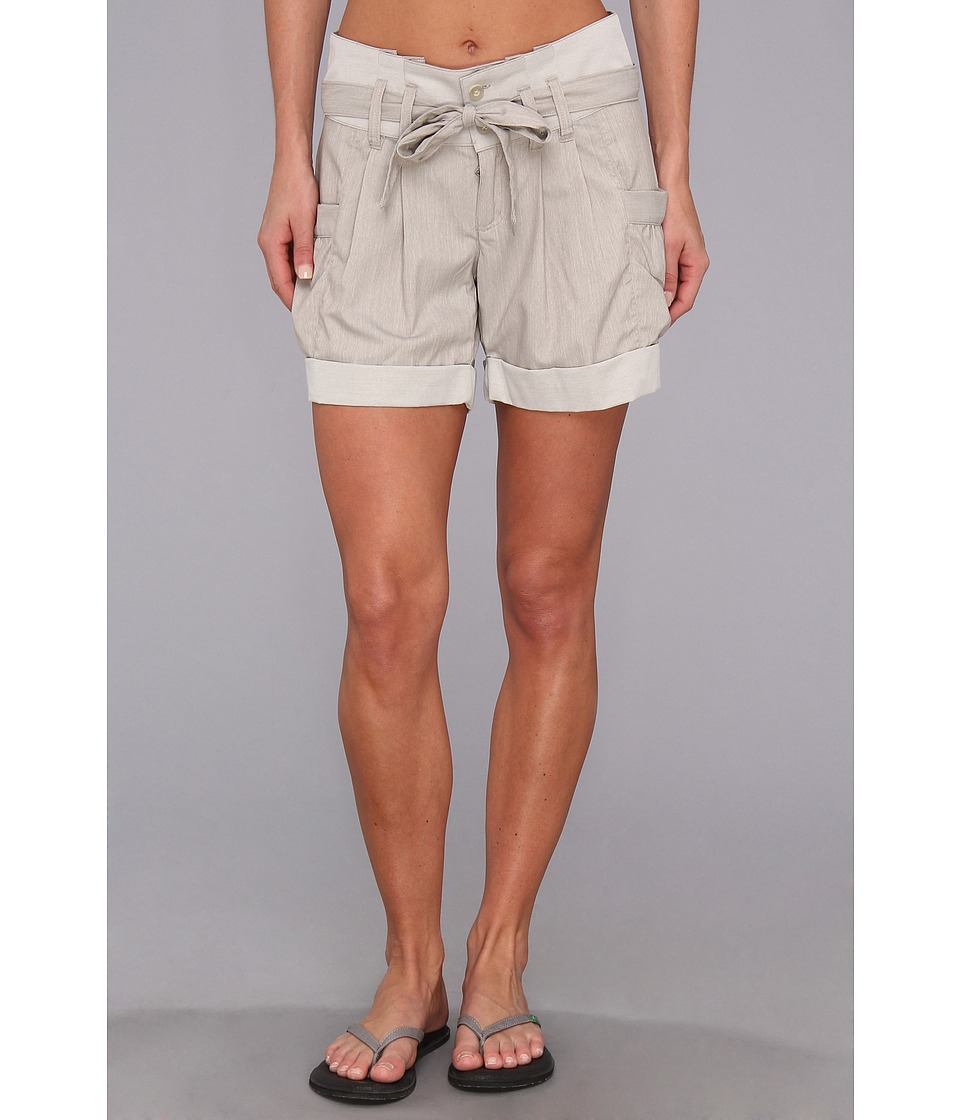 Royal Robbins - Metro Stretch Short (Light Taupe) Women