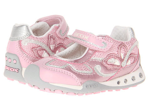 Geox Kids - Baby New Jocker Girl 16 (Toddler) (Pink) Girl's Shoes