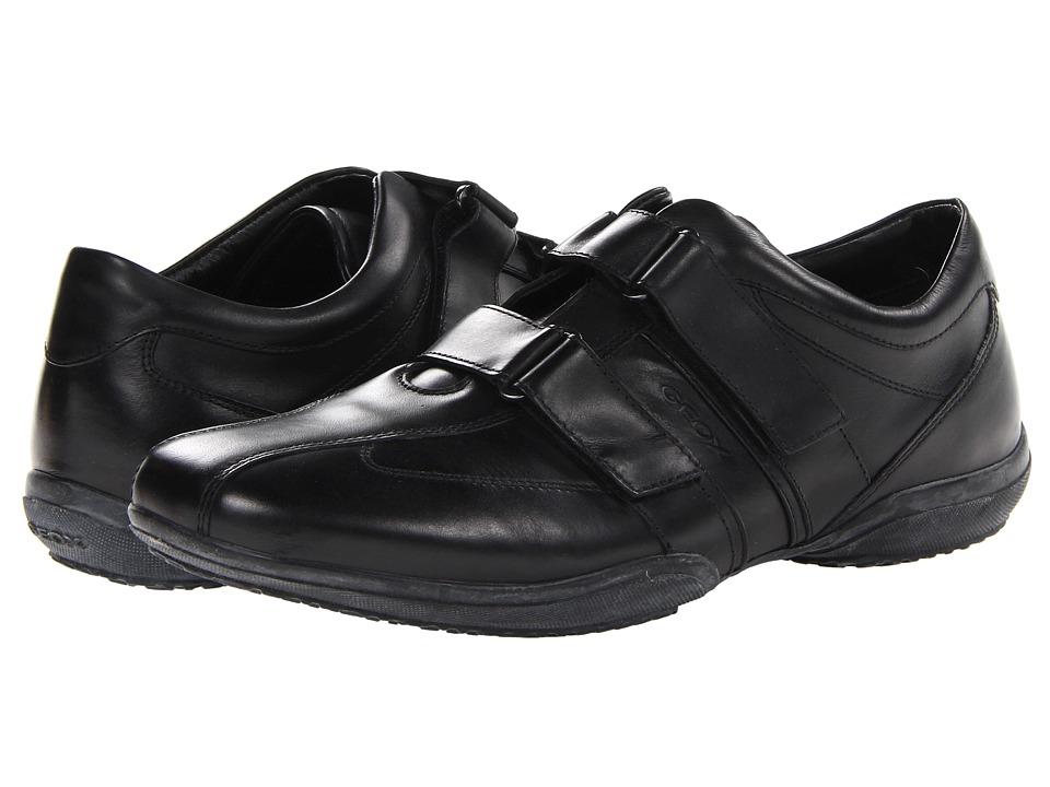 Geox - Uomo City (Black) Men's Shoes