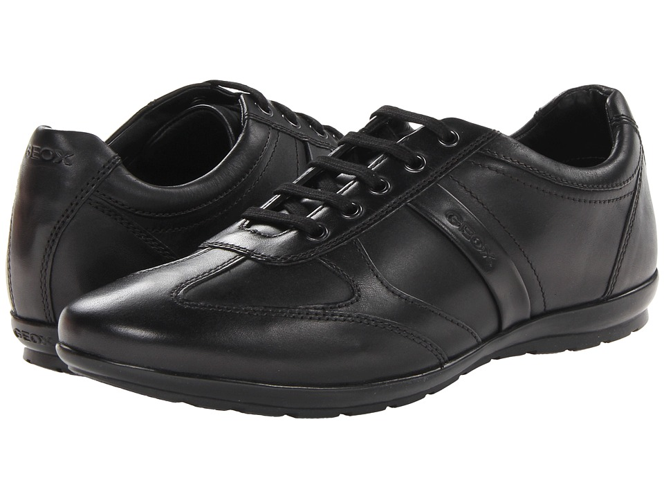 Geox - Uomo Symbol (Black) Men's Shoes
