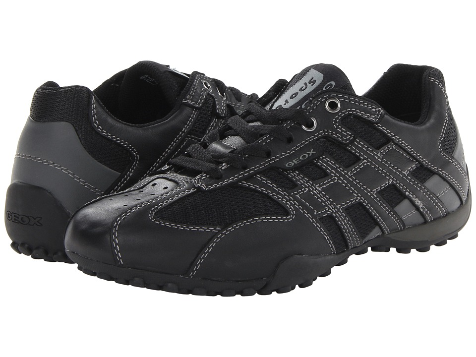 Geox - Uomo Snake 95 (Black/Lead) Men's Shoes