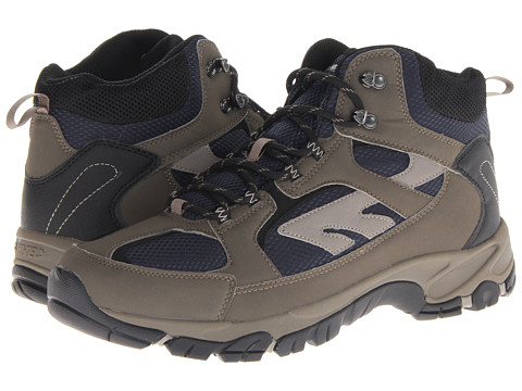 Hi-Tec - Lima (Donkey Grey/Core Navy/Warm Grey) Men's Hiking Boots