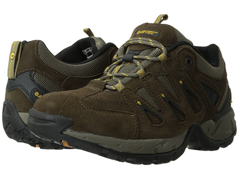 Hi-Tec - Scrambler Low (Smokey Brown/Saffron) Men