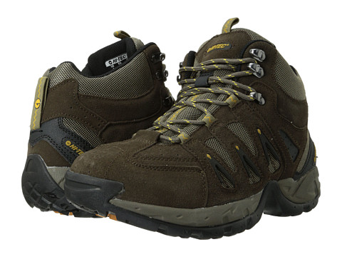 Hi-Tec - Scrambler Mid (Smokey Brown/Saffron) Men