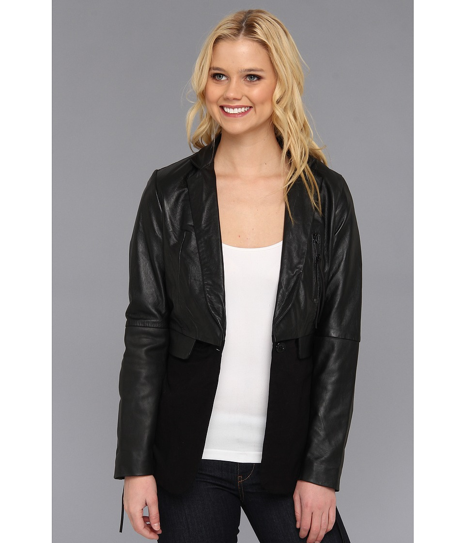 Diesel - L-Elvia Jacket (Black) Women's Jacket