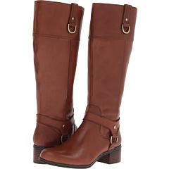 Bandolino Carerina Wide Calf (Cognac) Footwear