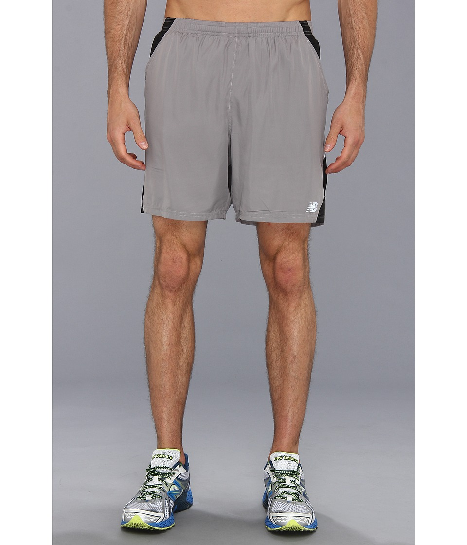 New Balance - 7 Run Short (Silver Filigree) Men's Shorts
