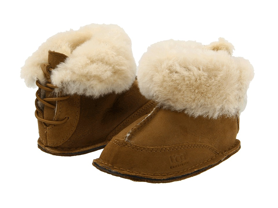 UGG Kids - Boo (Infant/Toddler) (Chestnut) Kids Shoes