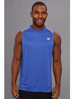 SALE! $16.5 - Save $14 on New Balance Sleeveless Run Top (Cobalt) Apparel - 45.00% OFF $30.00