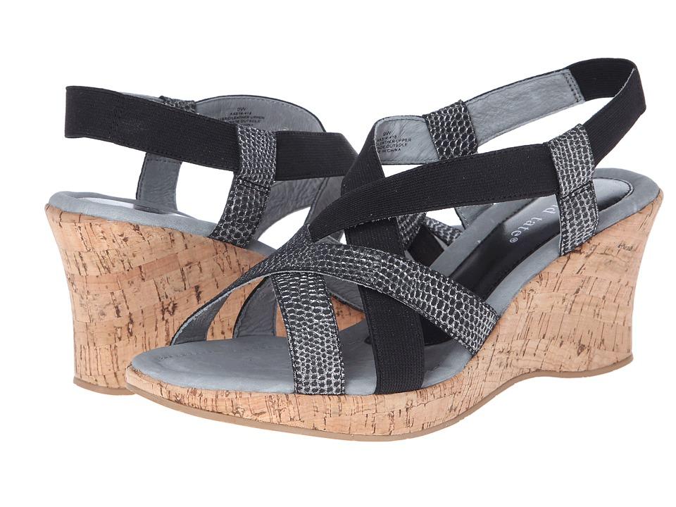 David Tate - Lexie (Black) Women's Sandals