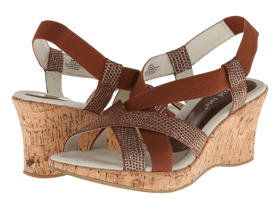 David Tate - Lexie (Luggage) Women's Sandals