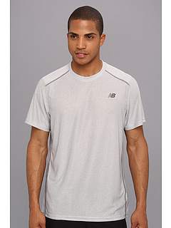 SALE! $14.99 - Save $15 on New Balance Short Sleeve Training Top (Magnet Silver) Apparel - 50.03% OFF $30.00
