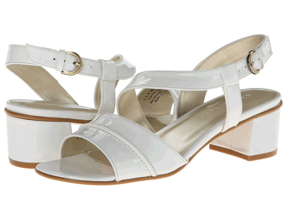 David Tate - Nessie (White) Women's 1-2 inch heel Shoes