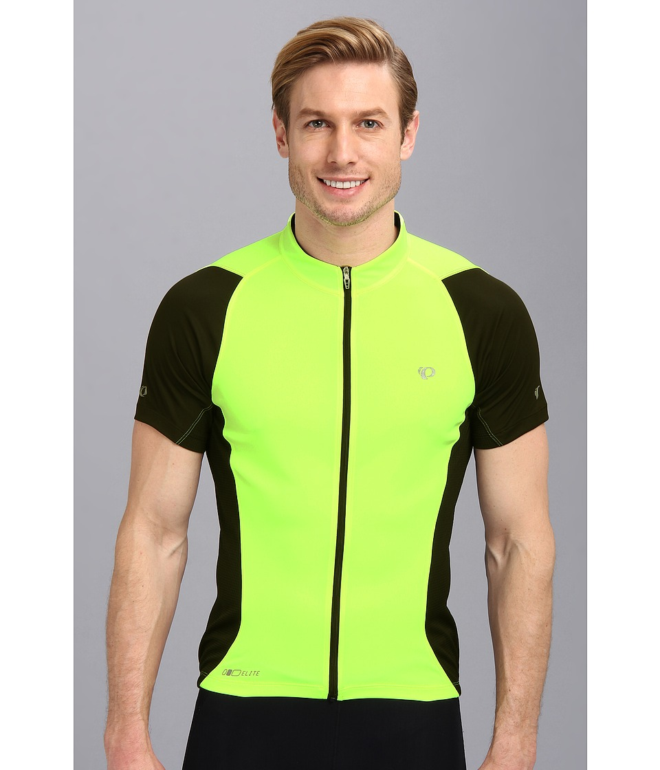 Pearl Izumi - ELITE Semi-Form Jersey (Screaming Yellow/Black) Men's Workout