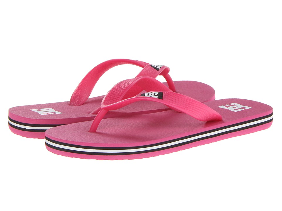 DC Kids - Spray (Little Kid/Big Kid) (Pink) Girls Shoes