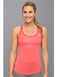 SALE! $16.5 - Save $14 on New Balance Run Racerback Tank (2 panel) (Watermelon) Apparel - 45.00% OFF $30.00